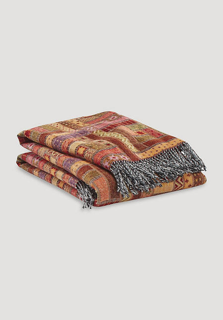 Baltimora blanket made from pure merino wool