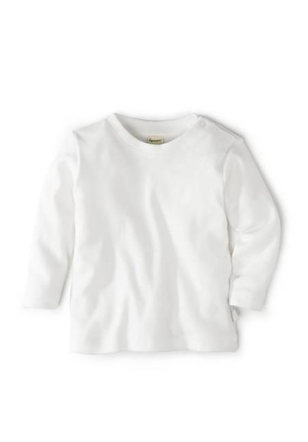 Basic Langarmshirt aus reiner Bio-Baumwolle