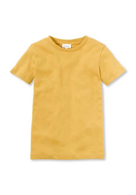 Basic-T-Shirt aus reiner Bio-Baumwolle