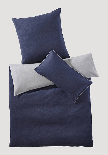 Beaver reversible bed linen made from pure organic cotton