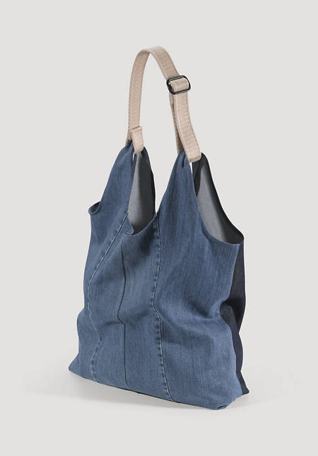 Bed recycling bag made from organic denim