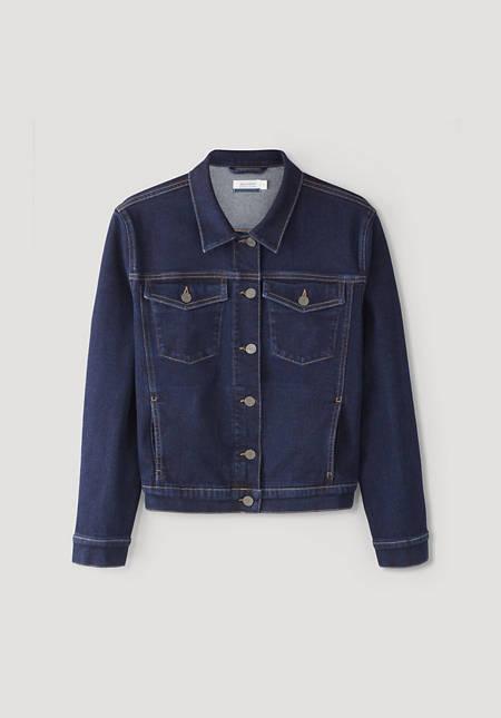 Betterecycling denim jacket made of organic denim