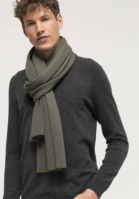 Betterecycling scarf made of pure merino wool