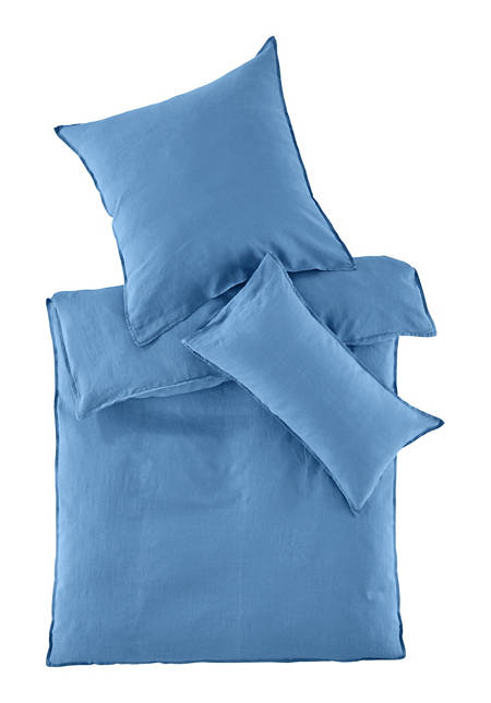 Bettwäsche aus reinem Bio-Leinen