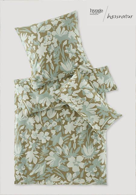 Biber-Bettwäsche Maija im Set aus reiner Bio-Baumwolle