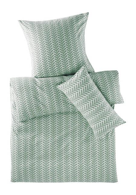 Biber-Bettwäsche Ornamento aus reiner Bio-Baumwolle