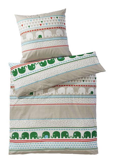 Biber Bettwäsche aus reiner Bio-Baumwolle