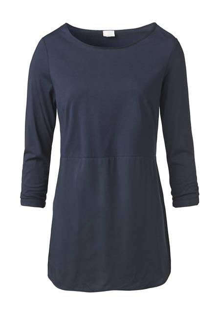 Bluse aus Modal und Bio-Baumwolle