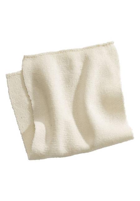 Bourette silk insert made of pure silk