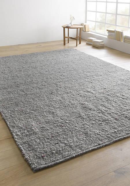 Carpet Heidschnucke made of pure new wool