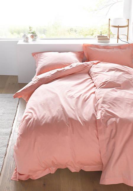 Chambray-Bettwäsche aus reiner Bio-Baumwolle