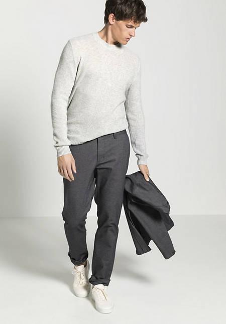 Chino Modern Fit aus Bio-Baumwolle