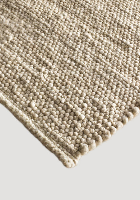 Coburger fox rug made from pure organic new wool