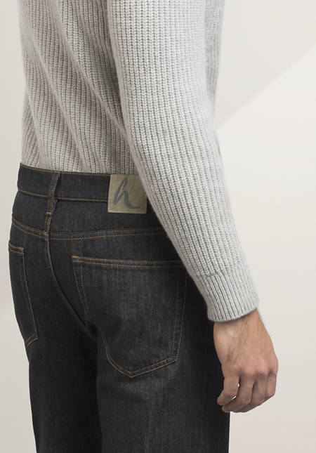 Comfort fit jeans made from pure organic denim