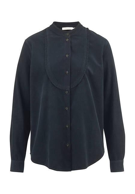 Cord Bluse aus reiner Bio-Baumwolle