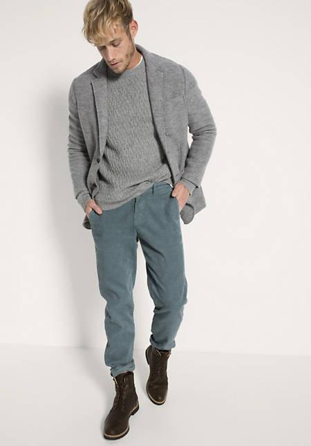 Cord Chino aus Hanf und Bio-Baumwolle