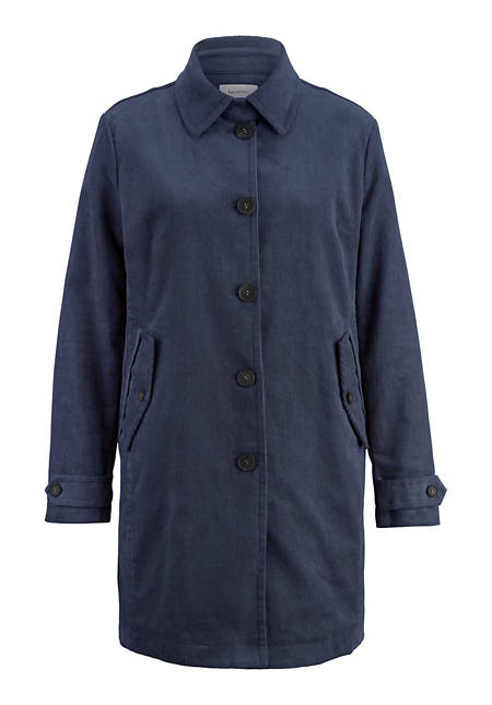 Cord Jacke aus Hanf mit Bio-Baumwolle