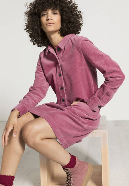 Cord Kleid aus Bio-Baumwolle