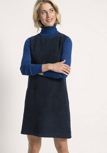 Cord Kleid aus Hanf mit Bio-Baumwolle