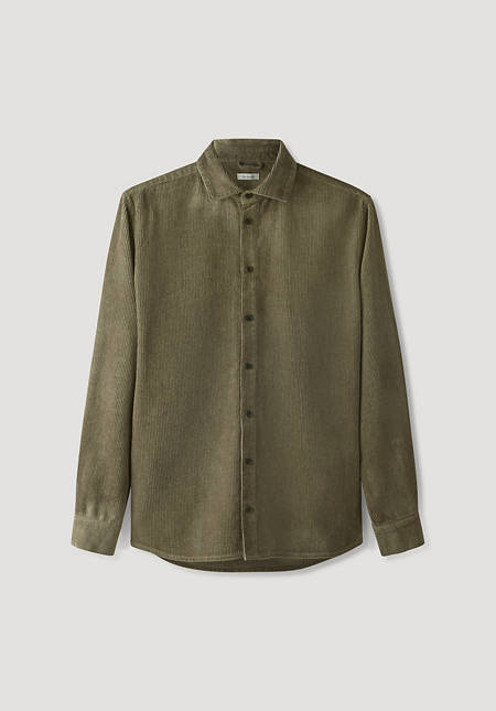 Cord overshirt Comfort Fit made of hemp with organic cotton