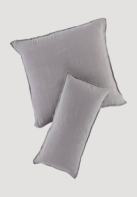 Cushion cover made from pure organic linen