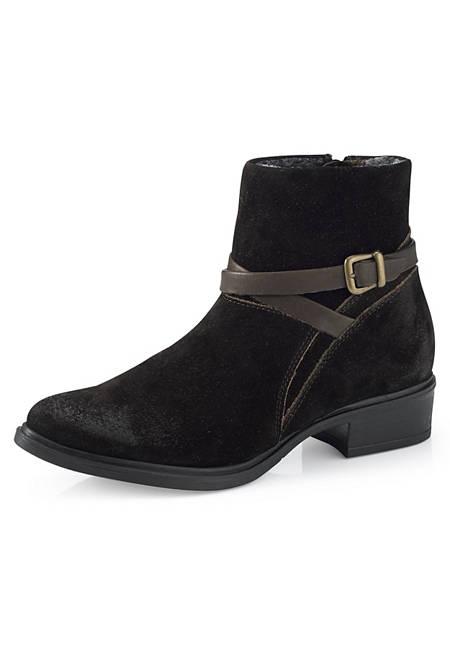 Damen Ankle-Boot aus Leder