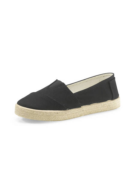Damen Canvas Upcycling Slipper