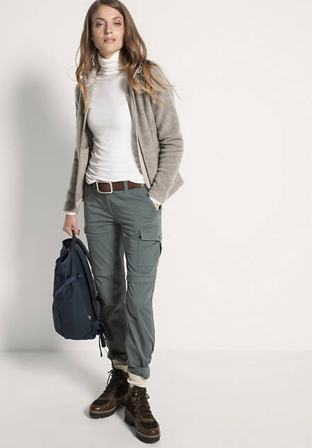 Damen Cargohose aus Bio-Baumwolle