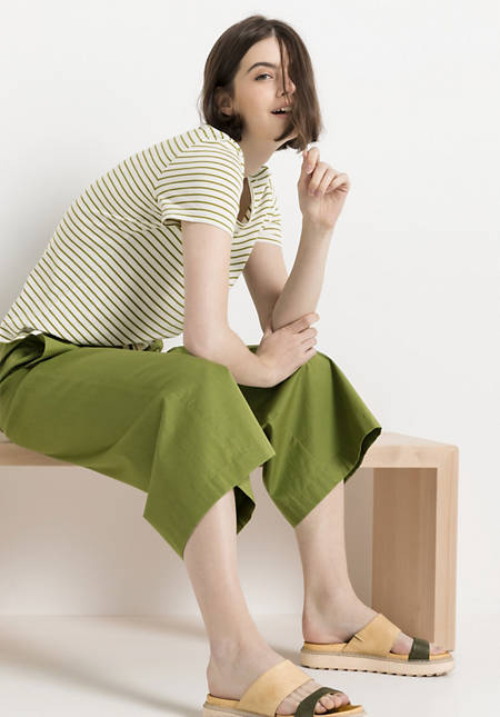 Damen Culotte aus reiner Bio-Baumwolle