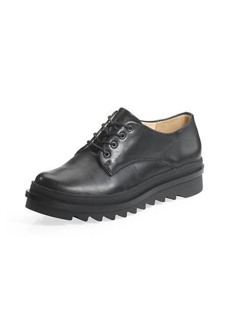 Damen Derby-Schuh aus Leder