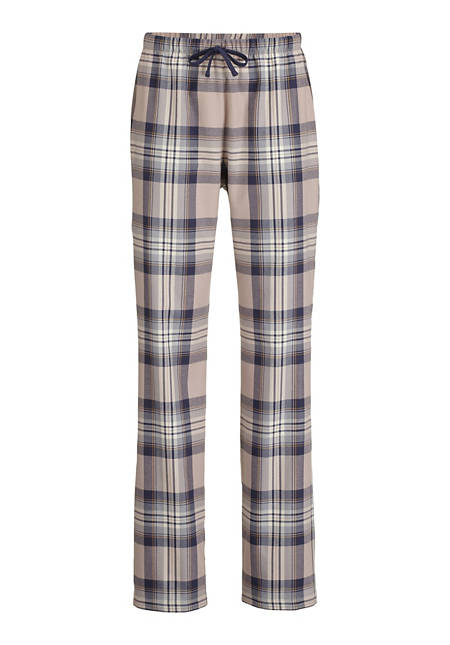 Damen Flanell-Schlafhose aus reiner Bio-Baumwolle