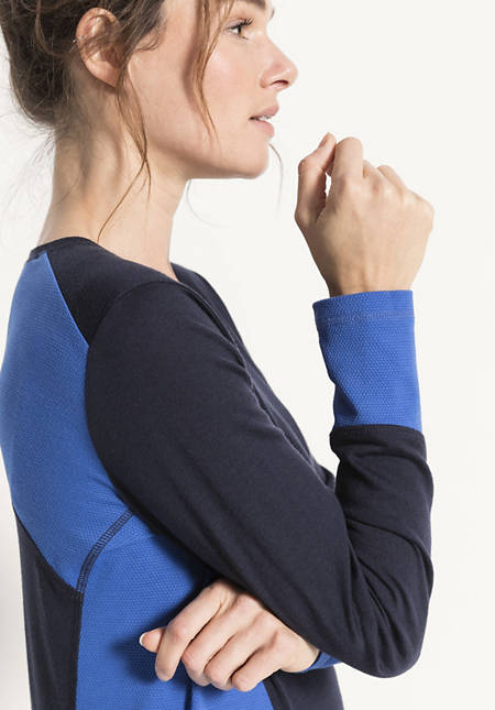 Damen Funktionsshirt aus Bio-Merinowolle