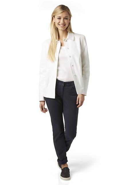 Damen Hose Straight Fit aus Bio-Baumwolle