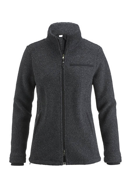 Damen Jacke aus Schurwolle mit Bio-Baumwolle
