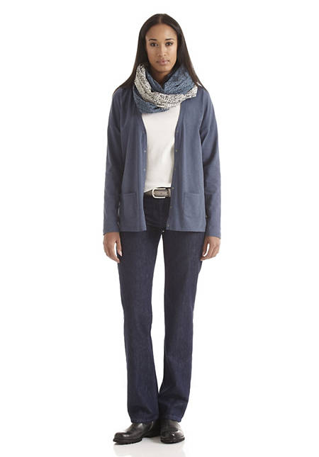 Damen Jeans Comfort Fit aus Bio-Baumwolle mit Schurwolle