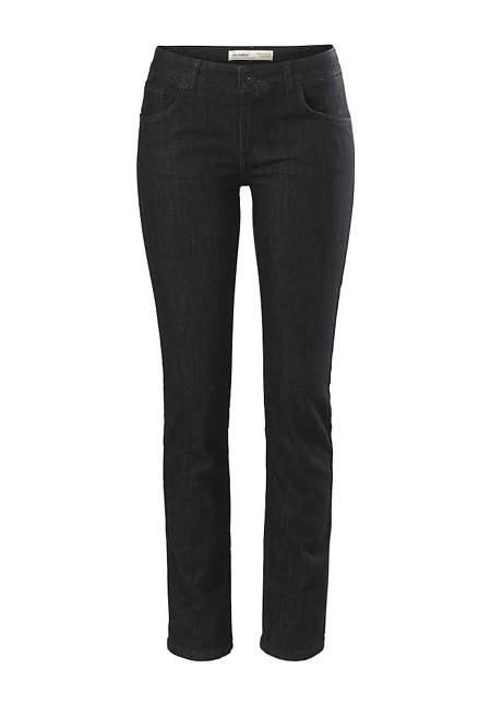 Damen Jeans Straight Fit aus Bio-Denim