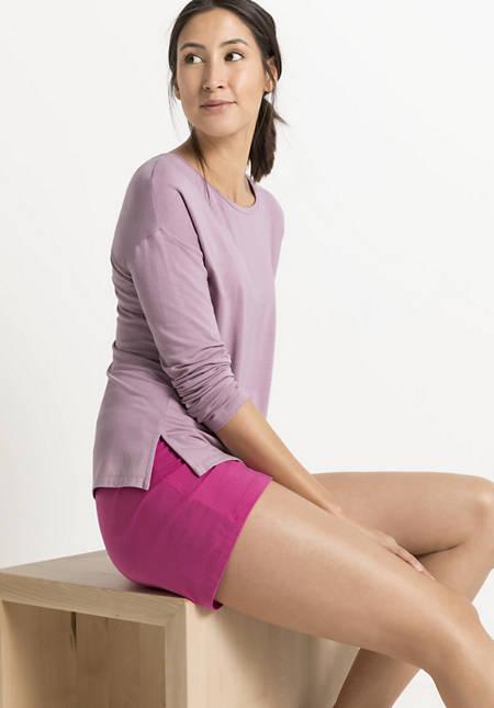 Damen Langarm-Schlafshirt aus TENCEL™ Modal