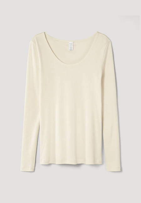 Damen Langarm-Shirt ModernNATURE aus reiner Bio-Baumwolle