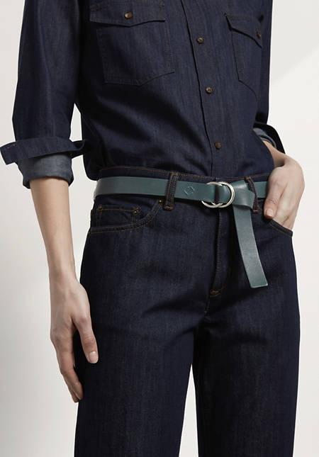 Damen Leder-Gürtel zum Binden