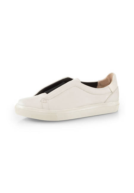 Damen Leder-Slipper