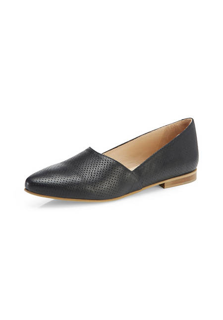 Damen Loafer aus chromfrei gegerbtem Leder
