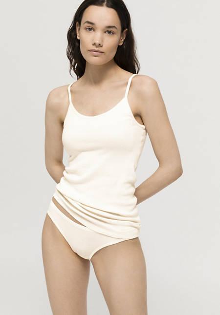 Damen Minislip ModernNATURE aus reiner Bio-Baumwolle