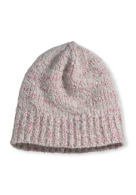 Damen Mütze aus Schurwoll-Alpaka-Mix
