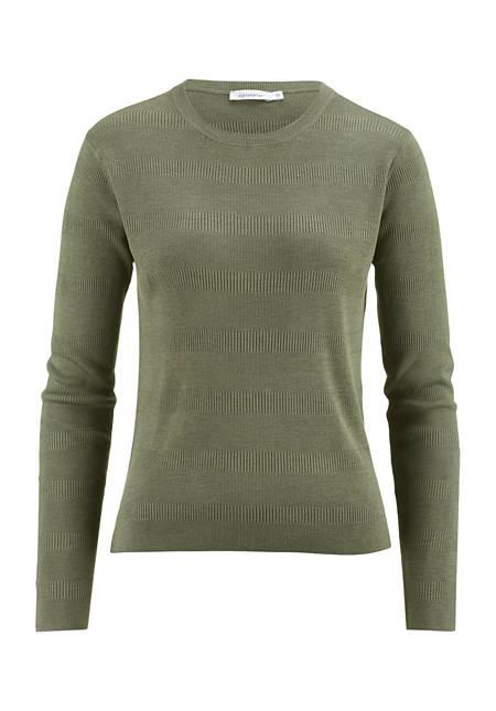 Damen Pullover aus reiner Eri-Seide