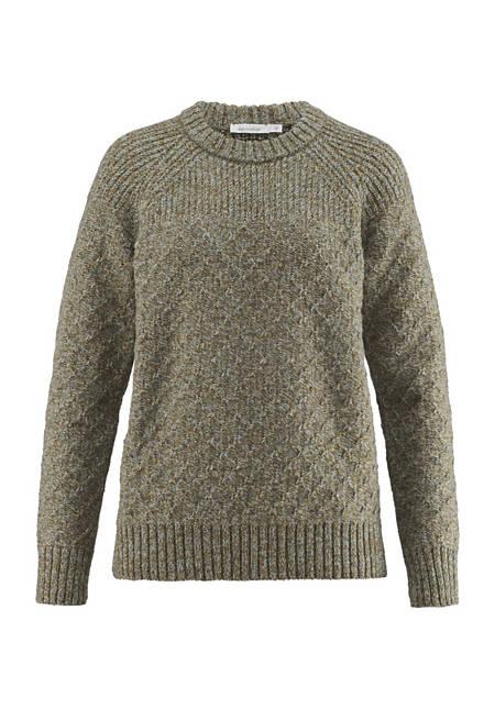 Damen Pullover aus reiner Schurwolle
