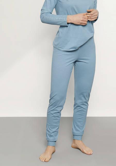 Damen Pyjama aus reiner Bio-Baumwolle