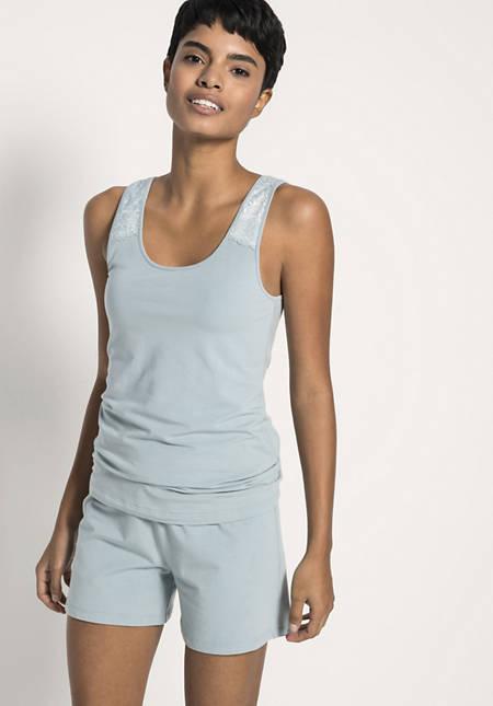 Damen Pyjametti aus Bio-Baumwolle und Modal