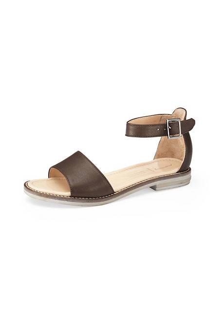 Damen Sandale aus Leder