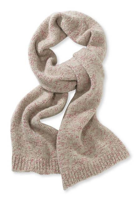 Damen Schal aus Schurwoll-Alpaka-Mix