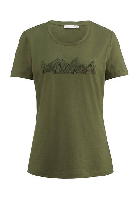 Damen Shirt aus Bio-Baumwolle mit Yak